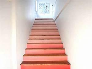 quelle couleur pour un escalier en bois meilleures With une couche de peinture