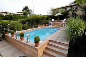 Piscine A Enterrer : piscine semi enterr e ~ Zukunftsfamilie.com Idées de Décoration