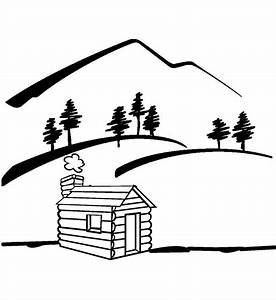 Mountain River Clip Art Black And White | Clipart Panda ...