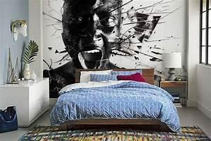 papier peint design izoa With papier peint design chambre