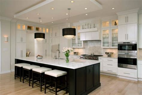 contemporary kitchen cabinets white spectacular black and white kitchen ideas you can apply 5701