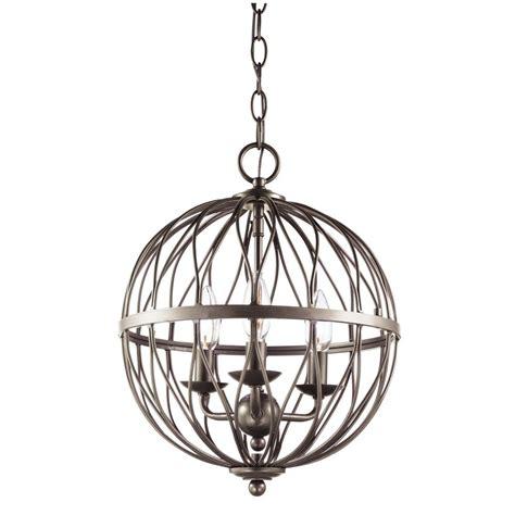 vintage light pendants bel air lighting sequoia 3 light antique silver leaf 3239
