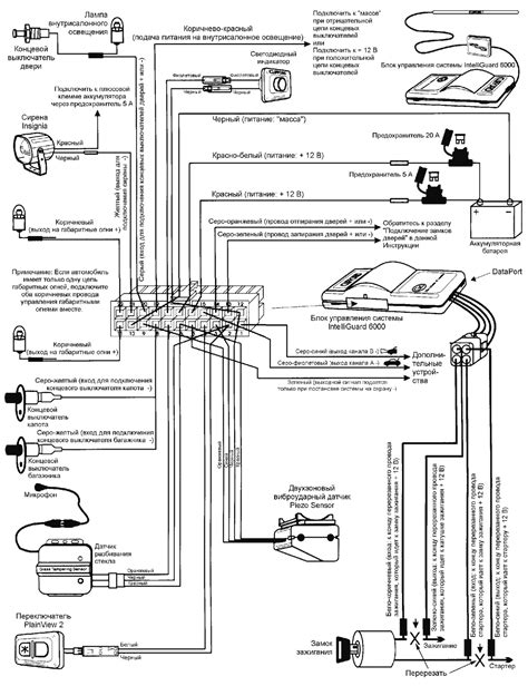 clifford intelliguard wiring diagram electrical diagrams