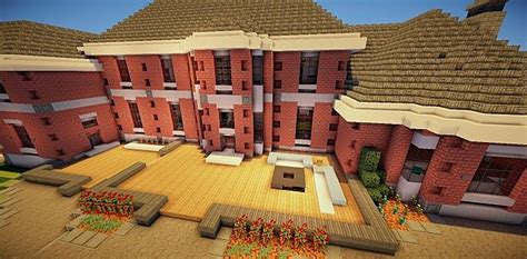 Traditional Mansion  1 Minecraft Project