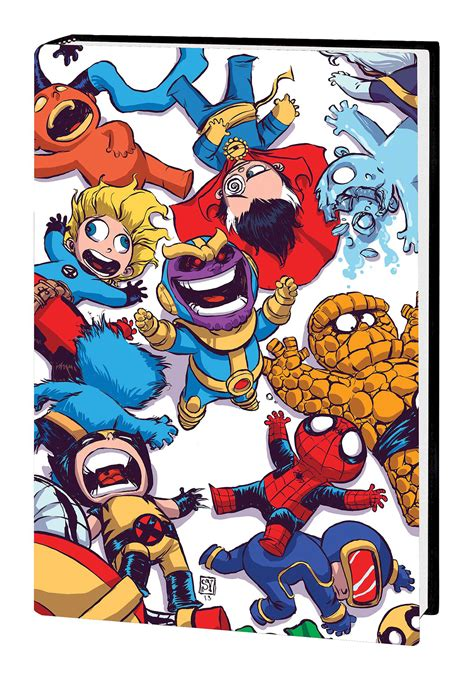 foto de DEC181031 MARVEL ART OF SKOTTIE YOUNG HC Previews World