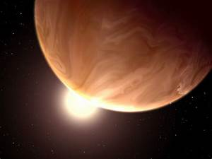 Hubble Telescope Reveals Super-Planets Covered in Alien Clouds