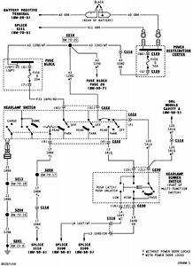 00 Dakota Headlight Switch Wiring Diagram