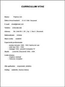 dtp operator resume model cv completat ecto modele de documente