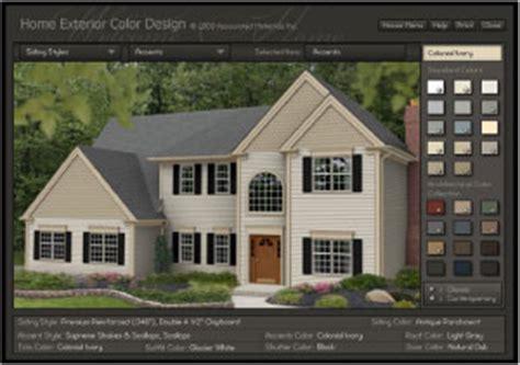 suburban construction home color design