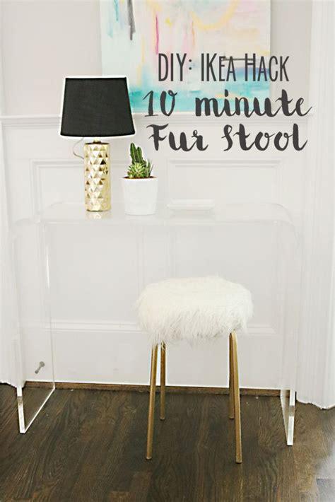 best 25 ikea stool ideas on fuzzy stool diy