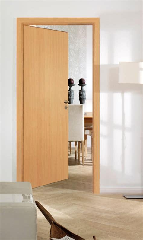 portes dinterieur portes en bois modele lisse