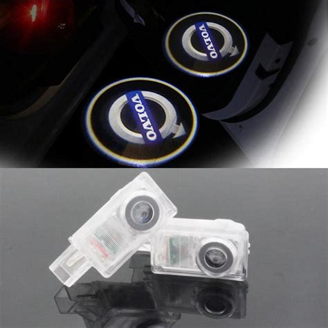 led car volvo door courtesy laser projector logo