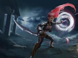 Katarina - League of Legends fan art by gogo1409 on DeviantArt