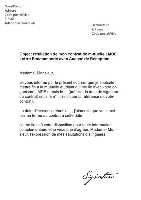 modèle rupture contrat apprentissage modele resiliation contrat apprentissage document