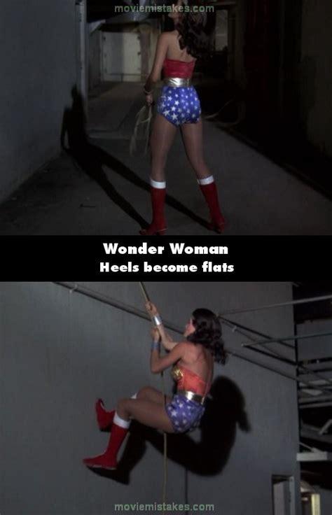 wonder woman 1976 tv random mistake moviemistakes