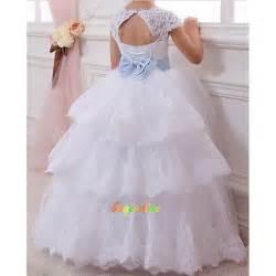 robe fille mariage cadeau fleur robe robe robe de fille de mariage d 39 enfant wedding dress g ebay