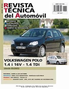 Manual De Taller Y Mecanica Volkswagen Polo Desde 5  2005 R181