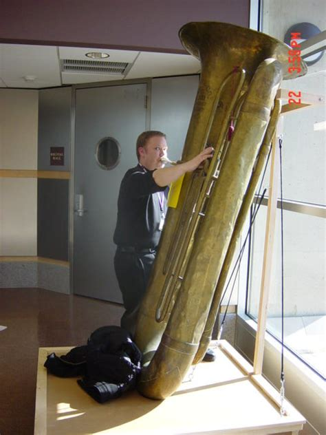 playing   contrabass tuba  nertec  amherst