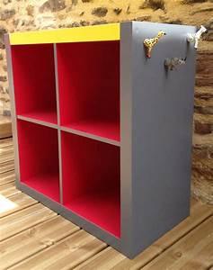 Meuble Industriel Ikea : rangement expedit d 39 ikea relook angus atelier de relooking de meubles vintage industriel ~ Teatrodelosmanantiales.com Idées de Décoration