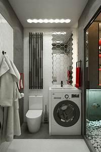 Petit Lave Linge Pour Studio : comment amenager un studio de 18m2 astuces conseils ~ Carolinahurricanesstore.com Idées de Décoration