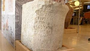 Stone Tablet Naming Ancient Governor Of Judea Found In Tel Dor