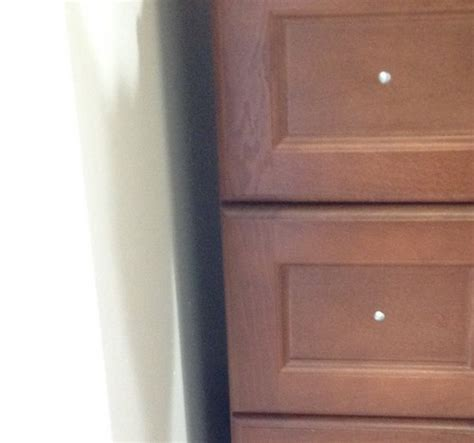 gap between cabinet and wall how to fill the gap between wall and vanity cabinet