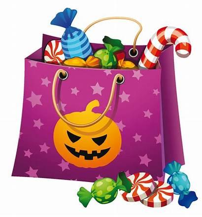 Candy Halloween Bag Clipart Transparent Yopriceville