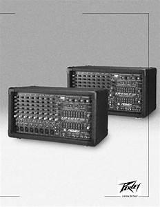 Peavey Xr 696f  Xr 684f User Manual
