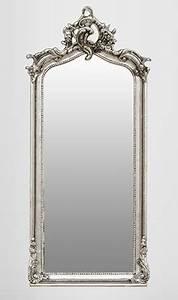 Barock Spiegel Silber Groß : casa padrino barock spiegel silber 115 x 48 cm spiegel ~ Markanthonyermac.com Haus und Dekorationen