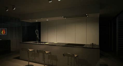 hotte de plafond avec 233 clairage leds de 116cm de largeur