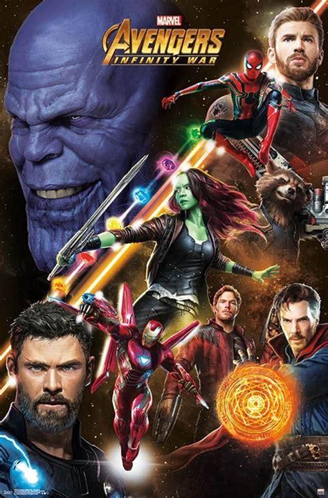 avengers infinity war nouvelles affiches du film disney planet