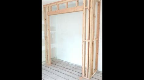 Framing Sliding Closet Doors by How To Frame A Closet By Coknowpro