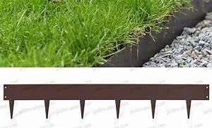 Bordure De Jardin : bordurette m tal acier 1m fran ais bordure de jardin ~ Melissatoandfro.com Idées de Décoration