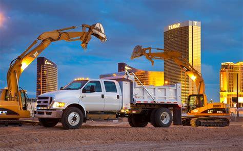2012 Ford F-650 Dump Truck First Test