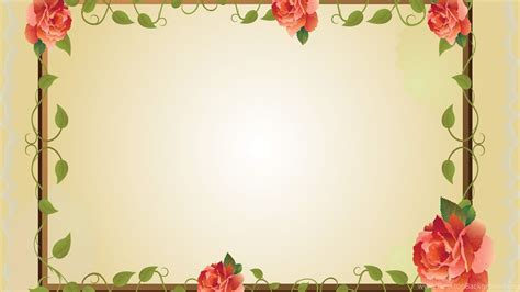 Backgrounds Borders by Border Frames Backgrounds Ppt Backgrounds Desktop Background