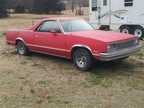 Buy Used 1982 Chevrolet Chevy El Camino Conquista In Boles