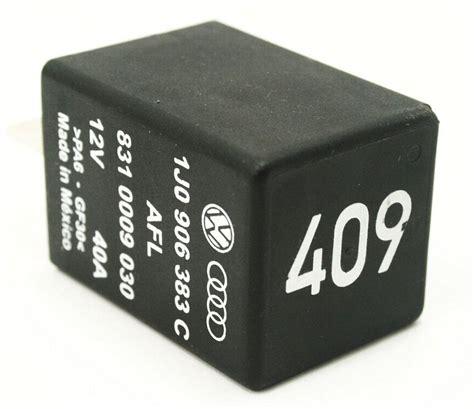 fuel relay 409 99 05 vw jetta golf gti mk4 beetle 1j0 906 383 c ebay