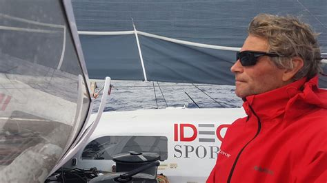 Trimaran Idec by Sailing News Troph 233 E Jules Verne Trimaran Idec Day 4
