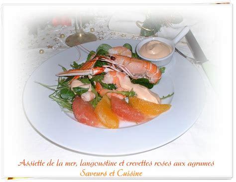 chambre avec picardie assiette de la mer langoustine et crevettes roses aux