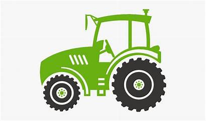 Tractor Silhouette Clipart Agriculture Agro Cartoon Case