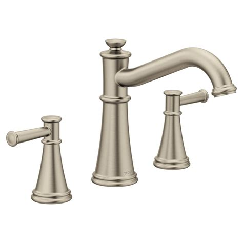 moen belfield  handle deck mount roman tub faucet