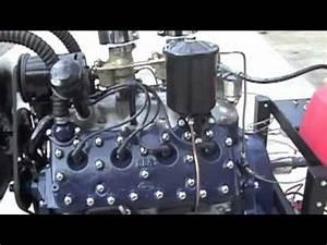 8ba Flathead Engine Running