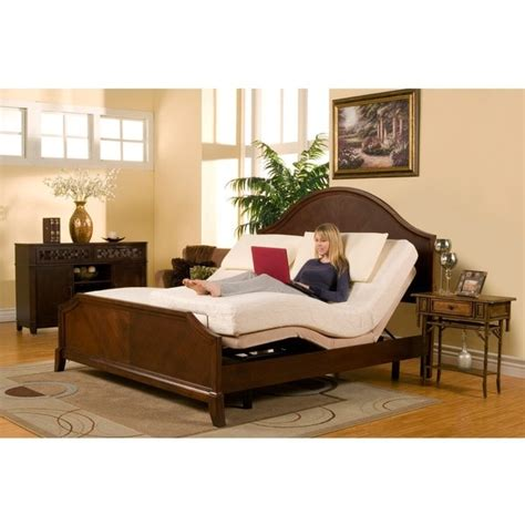 sleep zone premium adjustable bed    split king