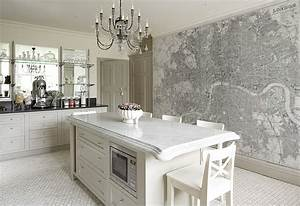 Custom printed map wallpaper murals contemporary for Kitchen colors with white cabinets with kids world map wall art