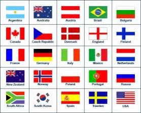 flags printed