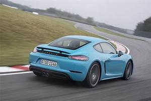 Porsche 718 Cayman Occasion : essai porsche 718 cayman s au volant du nouveau cayman 4 cylindres photo 2 l 39 argus ~ Gottalentnigeria.com Avis de Voitures