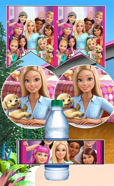 barbie dreamhouse birthday party printable files