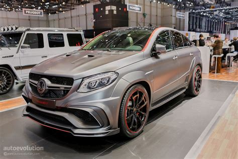 Mansory's Mercedes-amg Geneva Booth Sees Gle63 Coupe