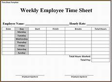 5+ payroll timesheet template Simple Salary Slip