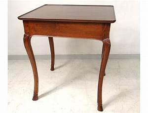 Table En Noyer : table cabaret louis xv bureau noyer sculpt plateau gorge xviii me si cle ~ Teatrodelosmanantiales.com Idées de Décoration
